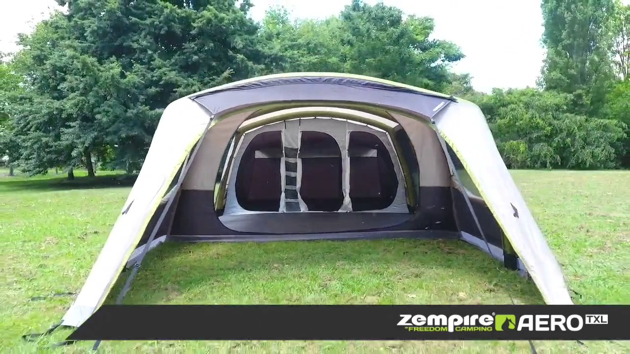 Zempire Aero TXL Tent & Zempire Aero TXL Tent - YouTube
