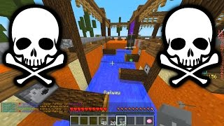Minecraft DEATH RUN #9 with The Pack (Minecraft Death Run Parkour)