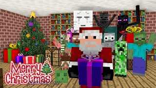 Monster School  CHRISTMAS SPECIAL - Minecraft Animation