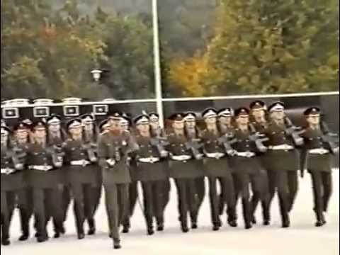 Guards Depot Pirbright Passing Out Parade 13th October 1989