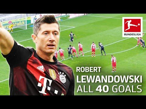 All 40 Goals of Robert Lewandowski 2020/21 so far