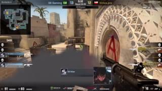 CS:GO - Taz 3k + sick 1v2 vs. SK Gaming [DreamHack Masters Las Vegas 2017]