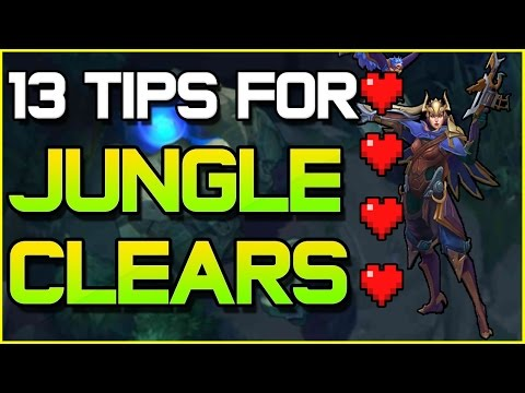 13 Tips for BETTER Jungle Clears | League of Legends