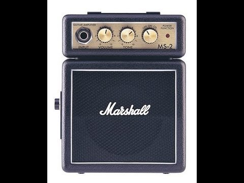 ms2 marshall mini practice amp review youtube. Black Bedroom Furniture Sets. Home Design Ideas