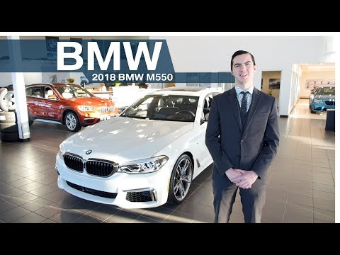 The 2018 BMW M550   Edmonton BMW in Edmonton Alberta