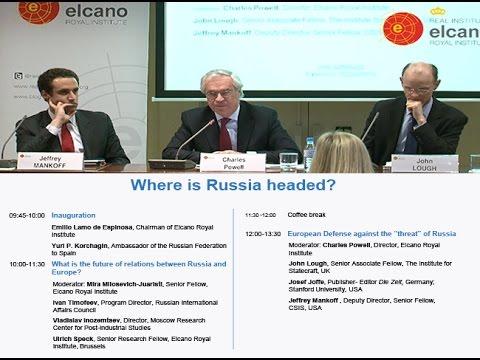 """European Defense against the """"threat"""" of Russia @rielcano"""