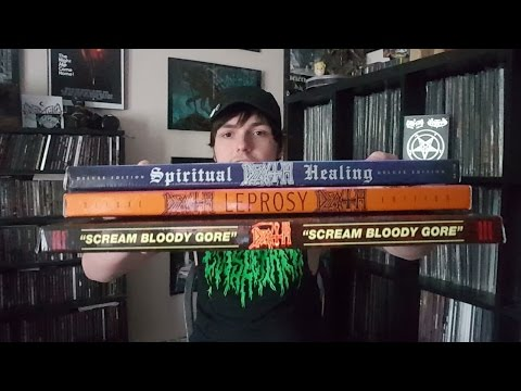 Deluxe DEATH Boxsets! Scream Bloody Gore, Leprosy, & Spiritual Healing