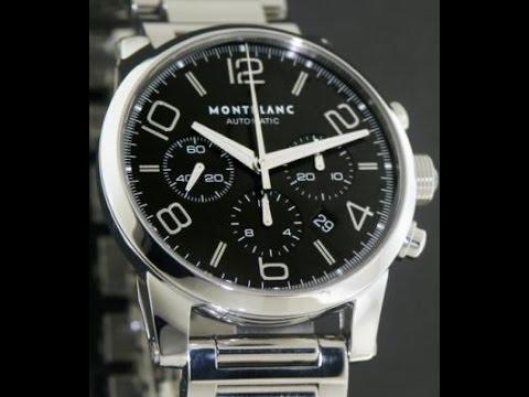 1b80b674d5d Relógio MontBlanc TimeWalker 9668 - YouTube