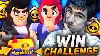 WIN CHALLENGE  BULL & COLT⚡ BRAWL STARS POLSKA  (odc.50)