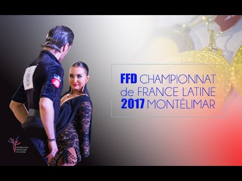 2017 French DanceSport Championship Latin - Complete Program