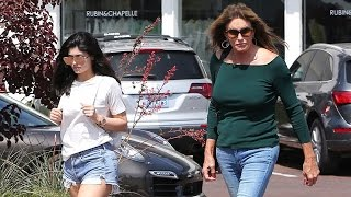Caitlyn Jenner Gets Friendly And Introduces Daughter Kylie To A Pap