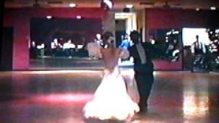 Stephanie Dalvit-McPhillips dancing a Chopin waltz with William Wymer. Thumbnail
