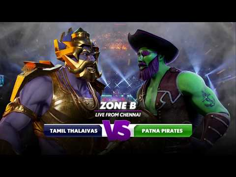 PKL 6 -  Tamil Thalaivas vs Patna Pirates Highlights  [ENG]