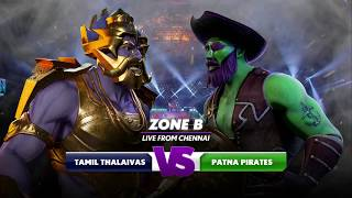 PKL 6 -  Tamil Thalaivas vs Patna Pirates Highlights  [ENG]