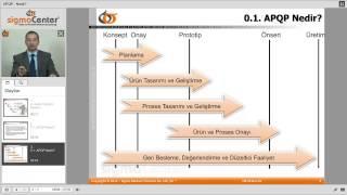 apqp nedir online ileri rn kalite planlaması apqp eğitimi