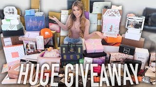 BIGGEST PR UNBOXING YET! (MASSIVE AMOUNT OF FREE MAKEUP)