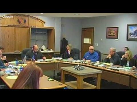 LCCC Board of Trustees Board Meeting - December 6, 2017