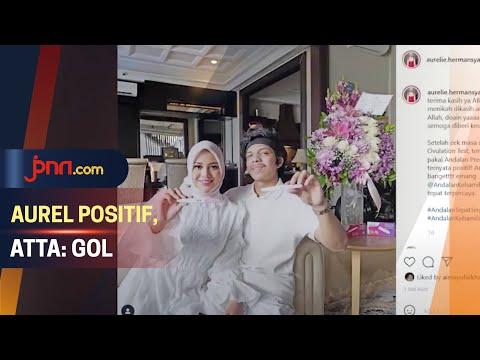 Aurel Hermansyah Positif Hamil, Atta Halilintar: Gol
