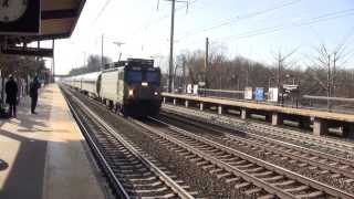 Northeast Corridor Action at Princeton Junction 12/1/13 Part 2