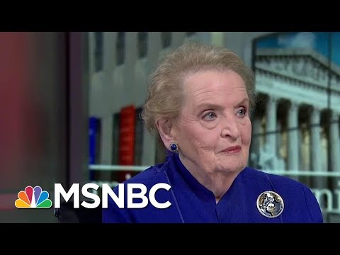 Madeleine Albright: The Tone Of Donald Trump's Speech Was 'Really Bad' | Morning Joe | MSNBC