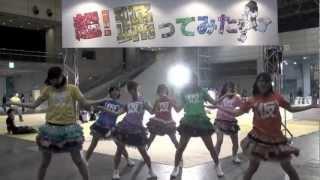 超!踊ってみたの前で踊ってみた アップアップガールズ(仮)がニコニコ...