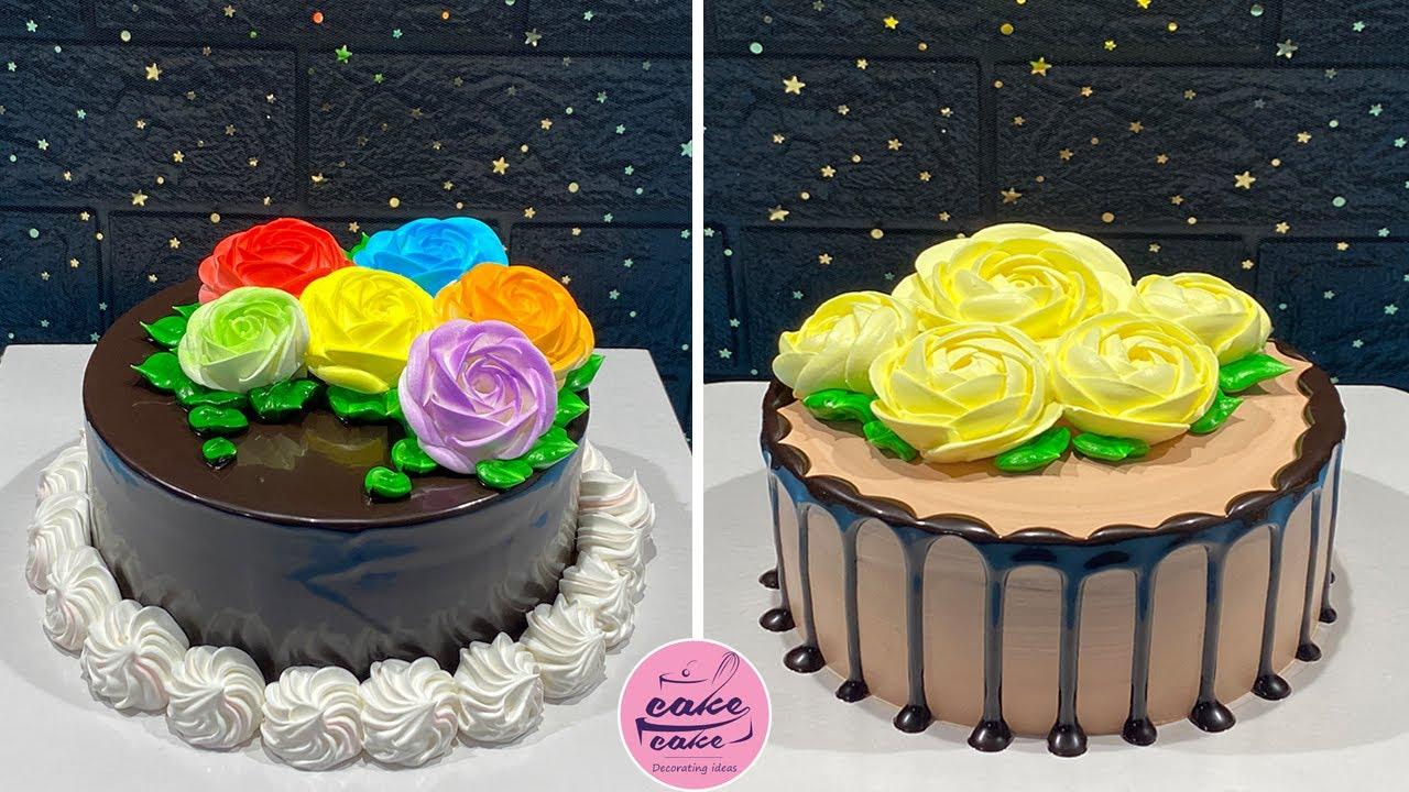 Simple and Quick Cake Decorating Compilation | Most Satisfy Chocolate Cake Recipe | Cake Design