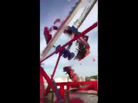 AMUSEMENT PARK ACCIDENT IN USA 26.7.2017