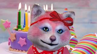 Открытки с днем рождения женщине анимация бесплатно. Открытки с днем рождения.
