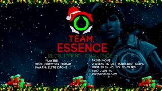 HOW TO JOIN ESS? Team Essence 2017 Recruitment Challenge! Gears of War 4