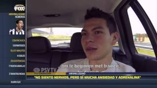 Nervios y adrenalina invaden a Lozano en su llegada a Eindhoven