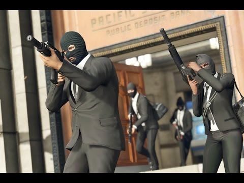 NAPAD NA BANK! GTA ONLINE /w. DEV