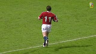 Shane Williams Scores Five Tries v Manawatu! | British & Irish Lions Tour 2005