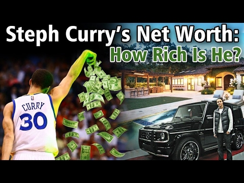 Stephen Curry's Net Worth: How Rich Is He?