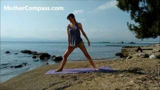 Фитнес для беременных - 15 минут упражнения дома для 2 триместра
