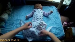 ГРУДНИЧОК_11_Как пеленать малыша от 1 до 2 месяцев?