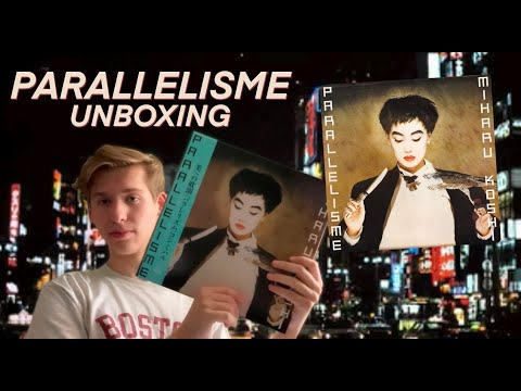 Parallelisme by Miharu Koshi RSD Japan Vinyl Unboxing 越美晴の「パラレリズム」