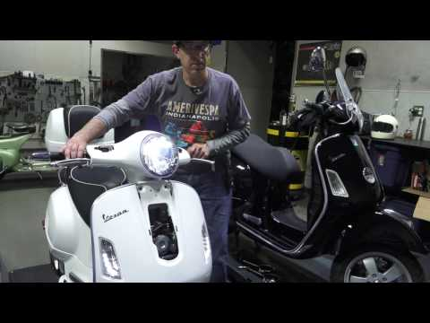 LED Headlight Kit for Vespa GTS