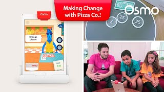 Let's Play Osmo! Making change with Pizza Co.!