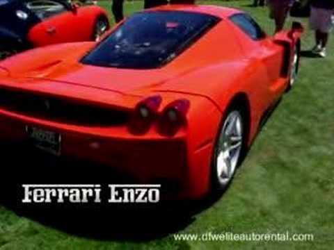 Pebble Beach 2007 Lambo Murcielago Ferrari Enzo 50 Cent Youtube