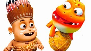 Timboo Tuskar - Catching The Ball Episode S1E5 | Videogyan Kids Shows | Funny Cartoon Animation