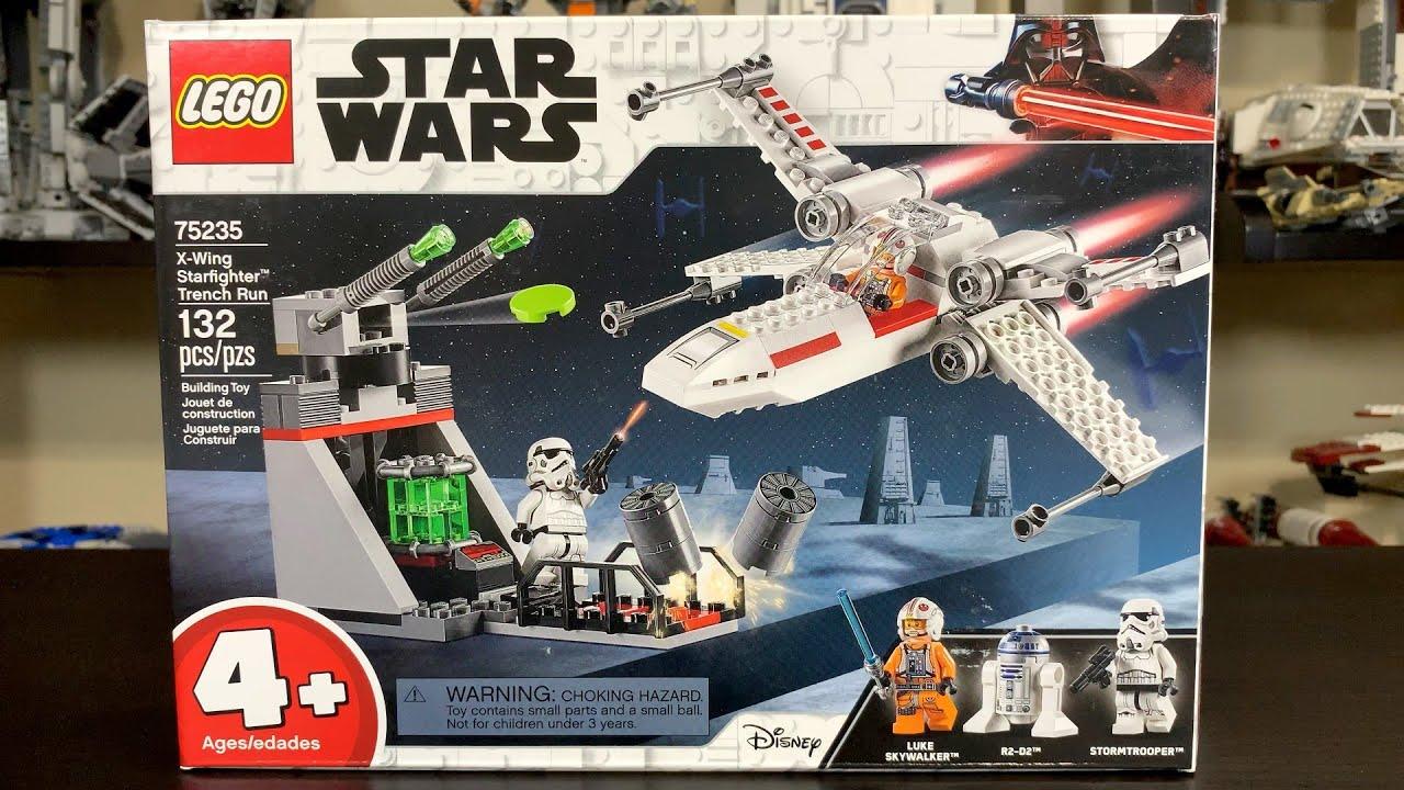 NEW LEGO Star Wars 75235 X-Wing Starfighter Trench Run