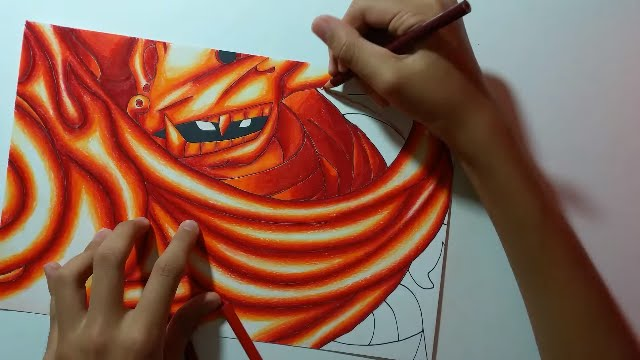 itachi s susanoo zainartz speed drawing youtube