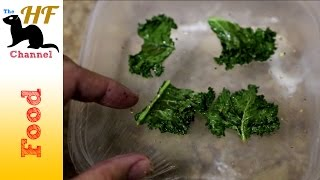 Making Kale Chips In The Microwave