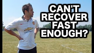 How to recover faster from running | Soccer stamina | Football endurance