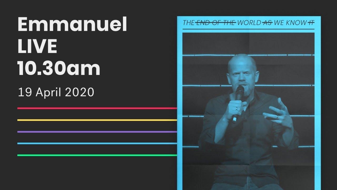 Emmanuel Live Online Service // 10:30am Sun 19 Apr 2020 Cover Image