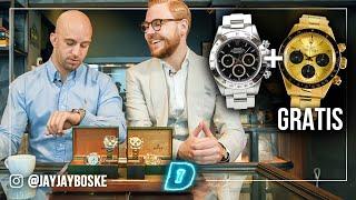 Gratis Rolex van €150.000 weggegeven?! // DAY1 Watch This