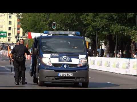 "Municipal police Madrid. Policia municipal de MADRID ""GRI"""