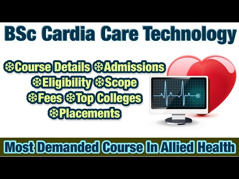 BSc Cardiac Care Technology Course Tamil   Admissions   Eligibility   Scope  Fees   Top college