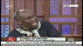 Jeff Koinange Live with renown author Prof. Ngugi  wa Thiong'o part1