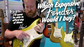 3 fender guitars i want but cant afford - jaguar / strat / dick dale custom shop